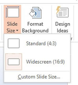 Resize PowerPoint slides